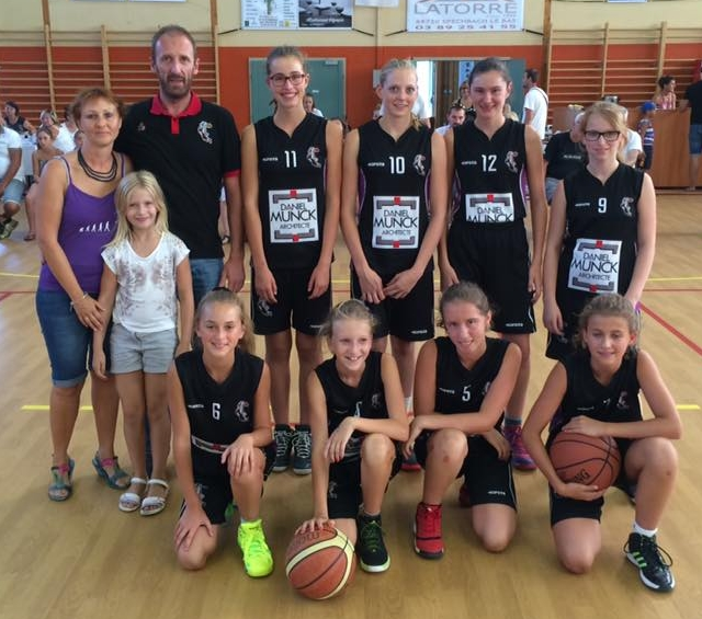 L'équipe U15F 2016-2017
