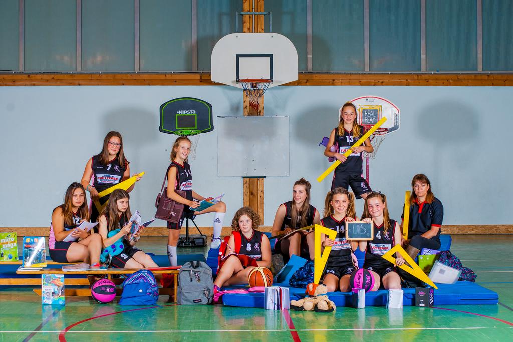 Les U15 féminins