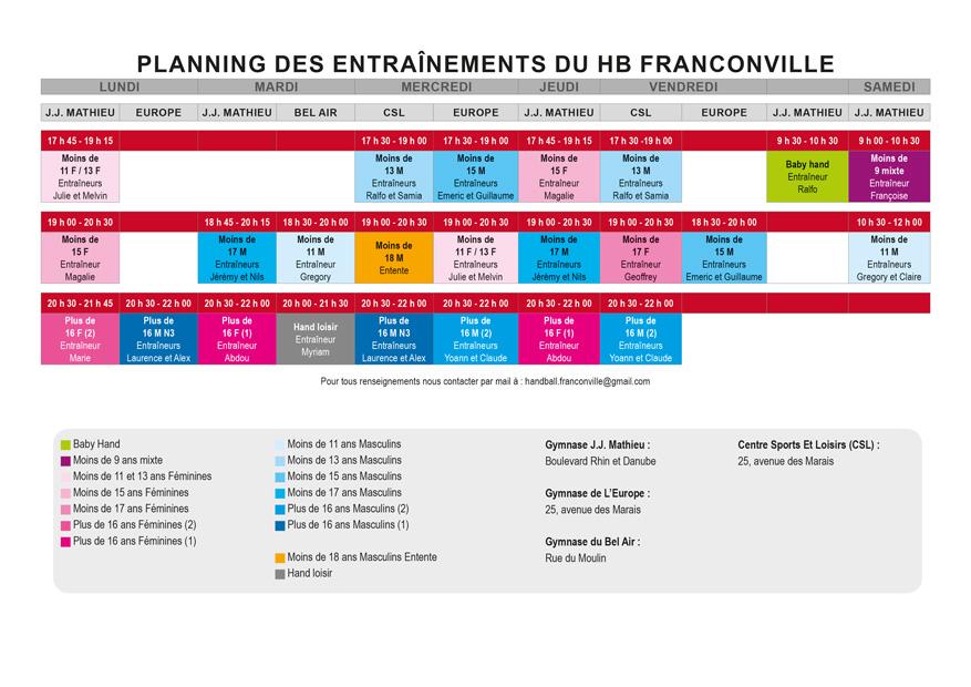 Planning 2017/2018