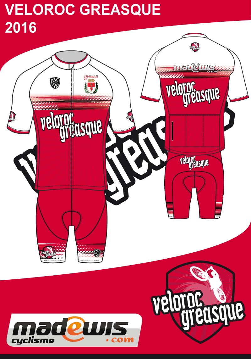 Maillots VELOROC GREASQUE