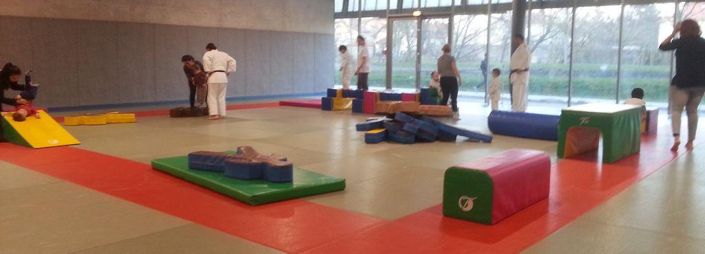 Cours de Baby Judo aux Arènes