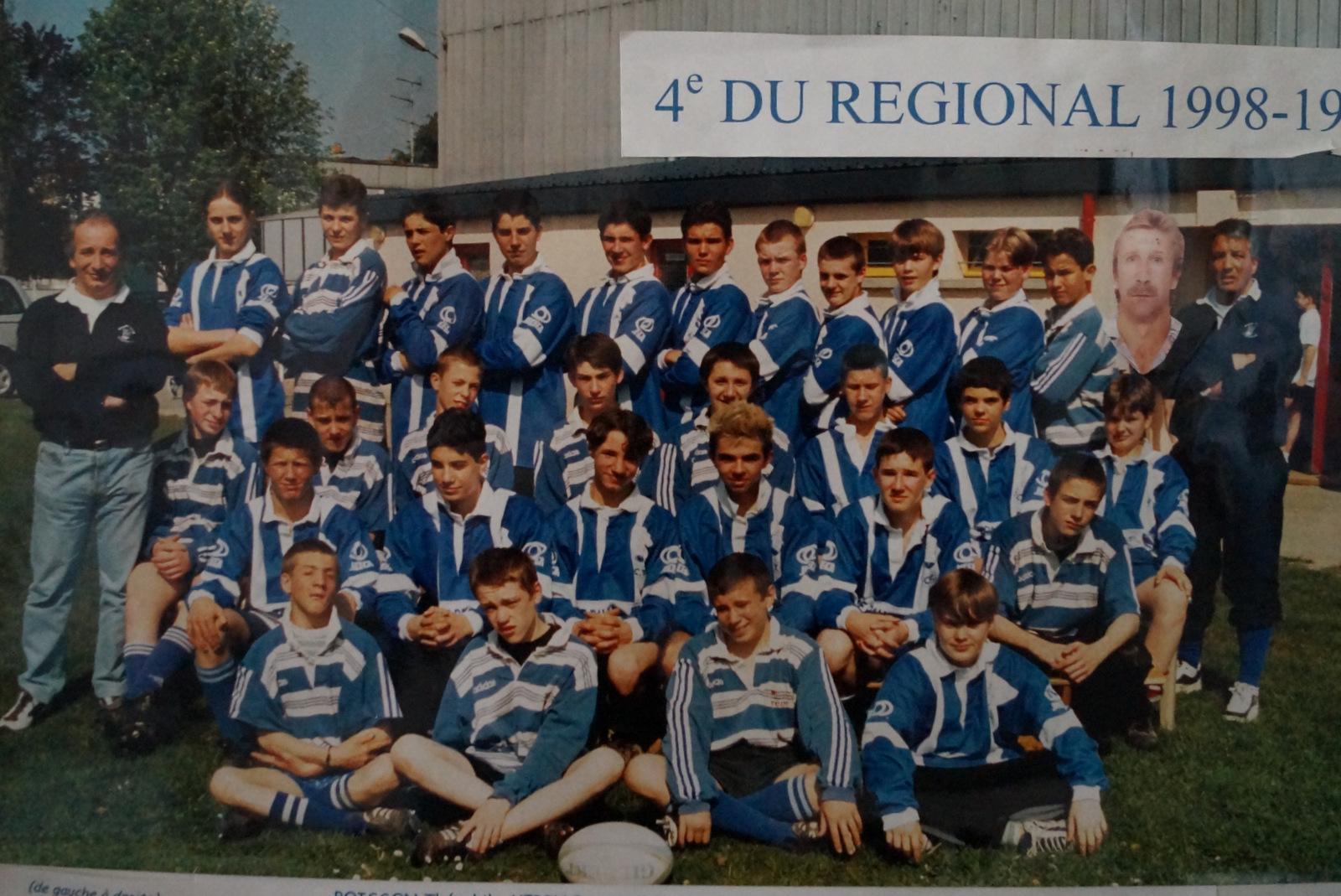 1999 Minimes 1/2 finale Chmpionnat de Normandie