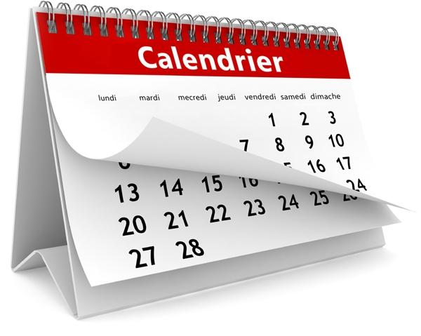 Ouvrir le calendrier en PDF
