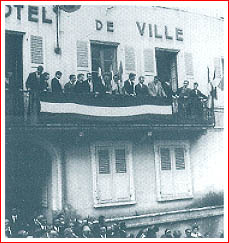 Réception des champions de France 1966 à l'Hôtel de Ville