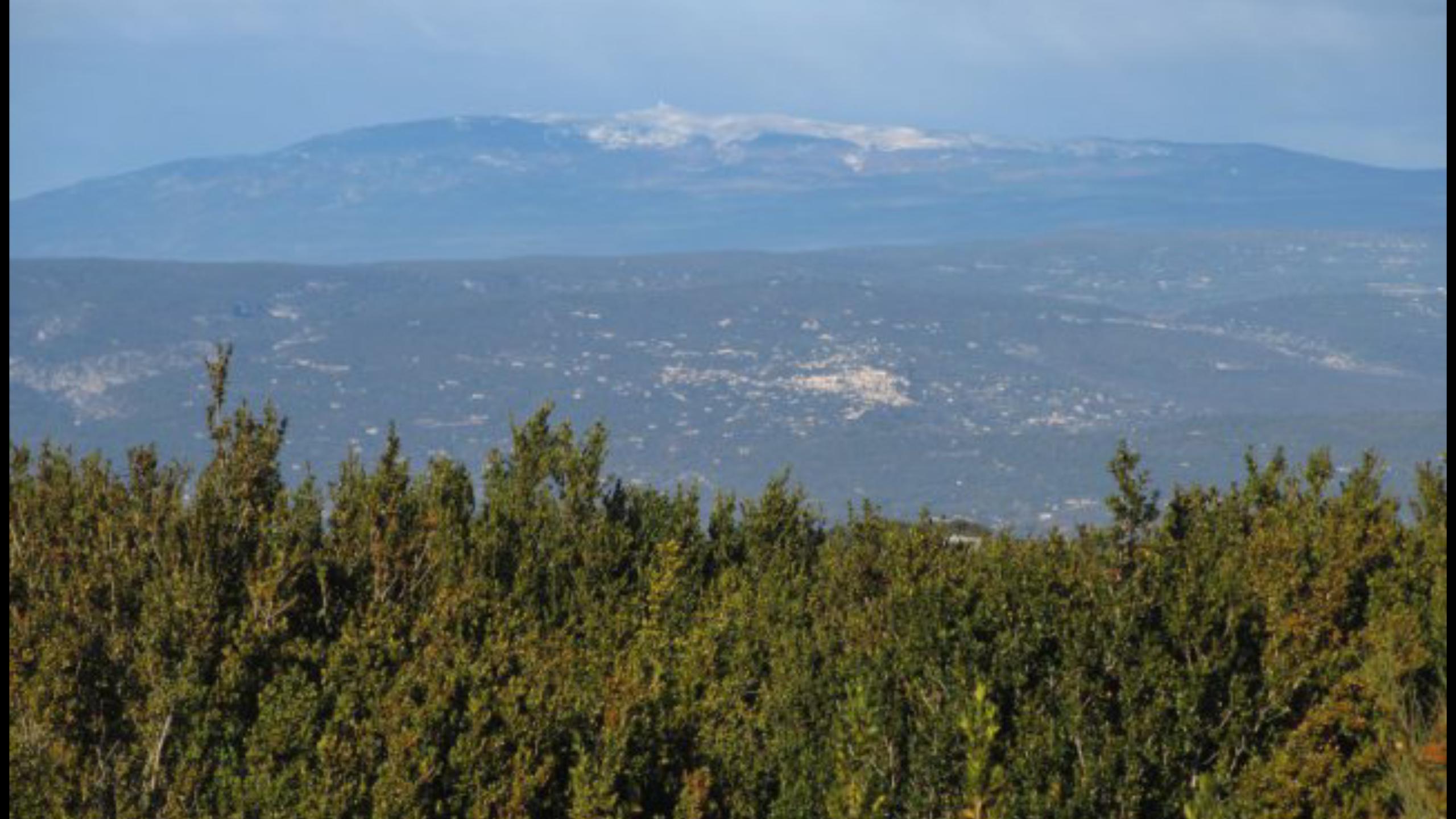Point de vue sur le rando le Monventoux